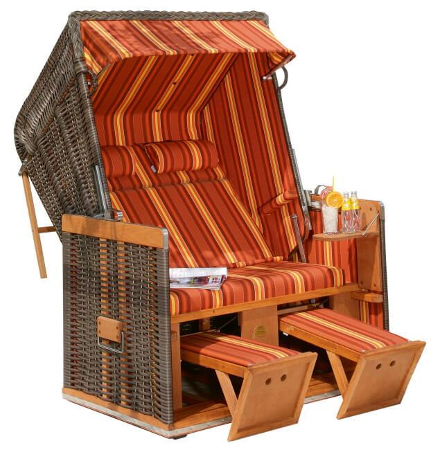 strandkorb nordsee cappuccino dessin 138. Black Bedroom Furniture Sets. Home Design Ideas