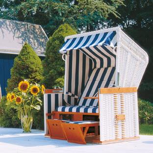 strandkorb nordsee weiss dessin 40. Black Bedroom Furniture Sets. Home Design Ideas