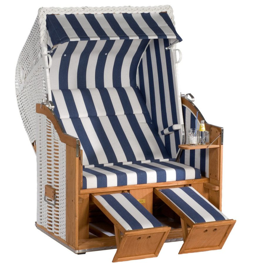 strandkorb ostsee blau wei rugbyclubeemland. Black Bedroom Furniture Sets. Home Design Ideas